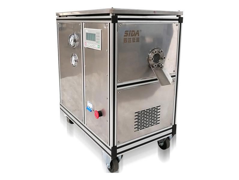 资阳颗粒干冰机是如何生产干冰颗粒的呢?