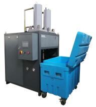 四达低温双头立式干冰制造机