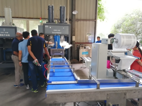 资阳四达干冰制造机生产线