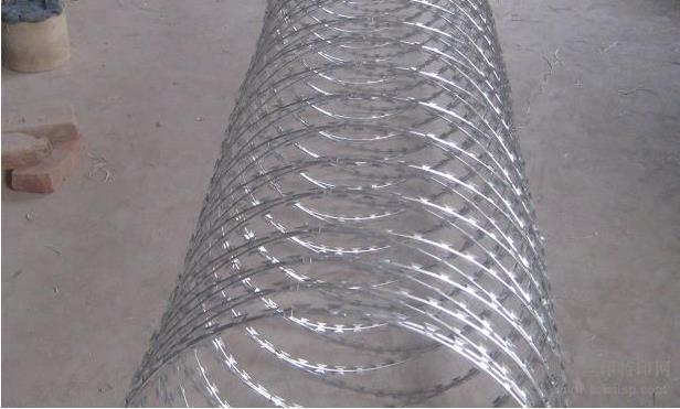刀片刺网护栏网隔离能力较强的新型防护网产品
