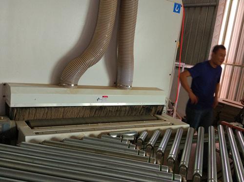 四川砂带自动化流水线展示