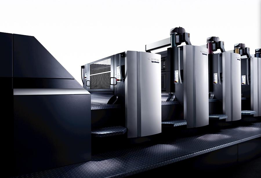 海德堡印刷机-五色对开印刷机