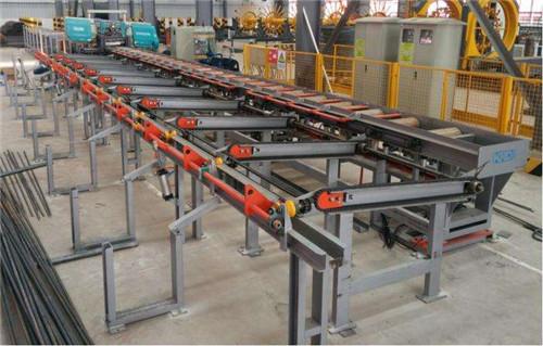 成都苟先生-600型数控钢筋锯切生产线合作案例