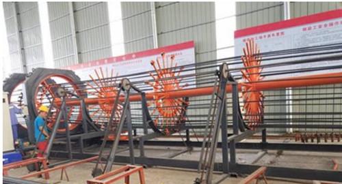 德阳陈先生-GJL2000型钢筋笼缠绕机合作案例