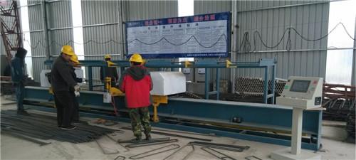 南充某工地-GQ40型鋼筋切斷機(有離合)合作案例