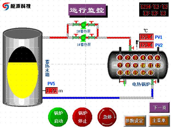 蓄热系统智能控制