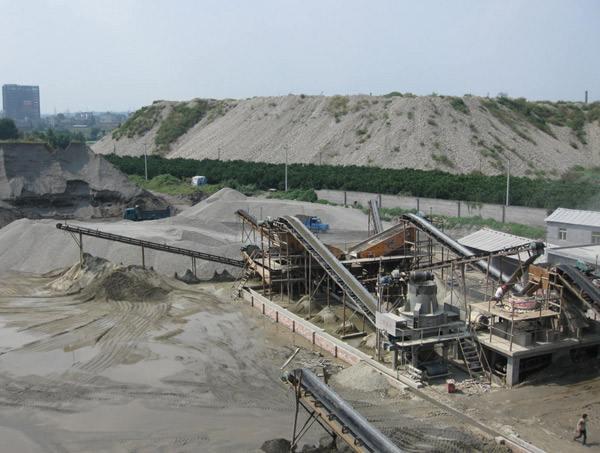 陇南石沙场输送带工程案例