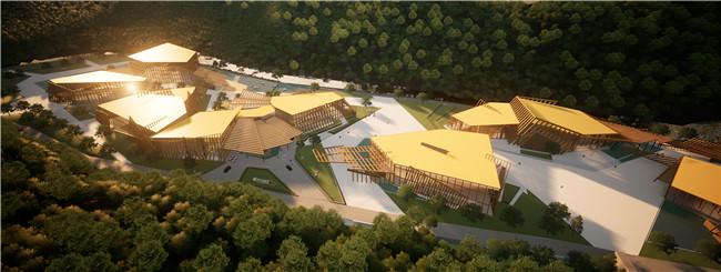 甘肃一带一路美丽乡村会址项目工程案例