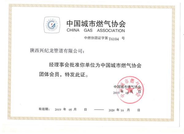 中国城市燃气协会团体会员