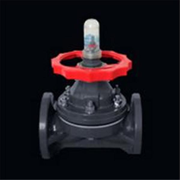 PVC-C法兰式隔膜阀