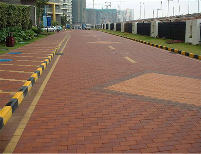 广场砖施工案例展示