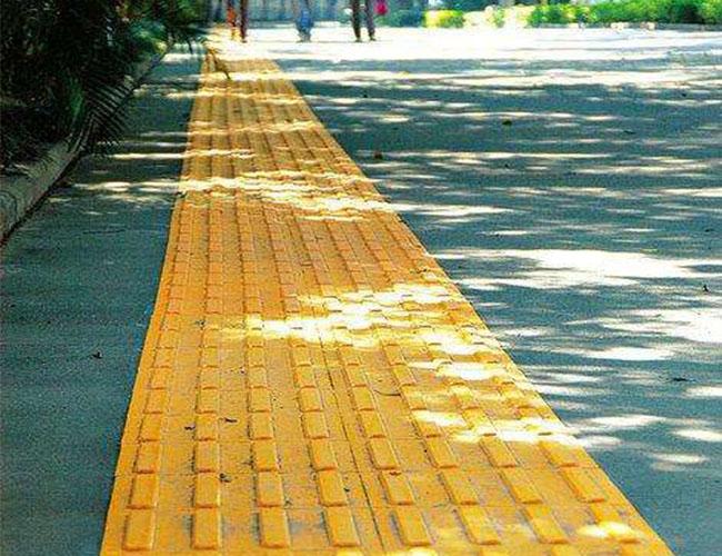 陕西马路砖施工案例