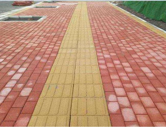 彩砖施工案例