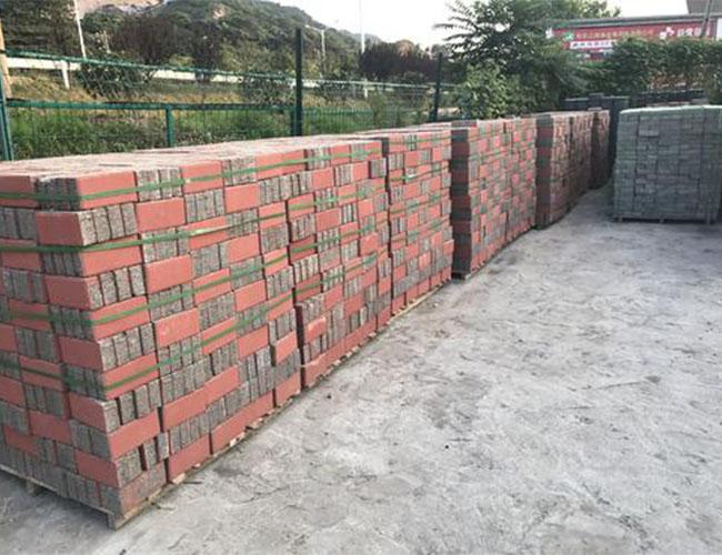 西安彩砖生产