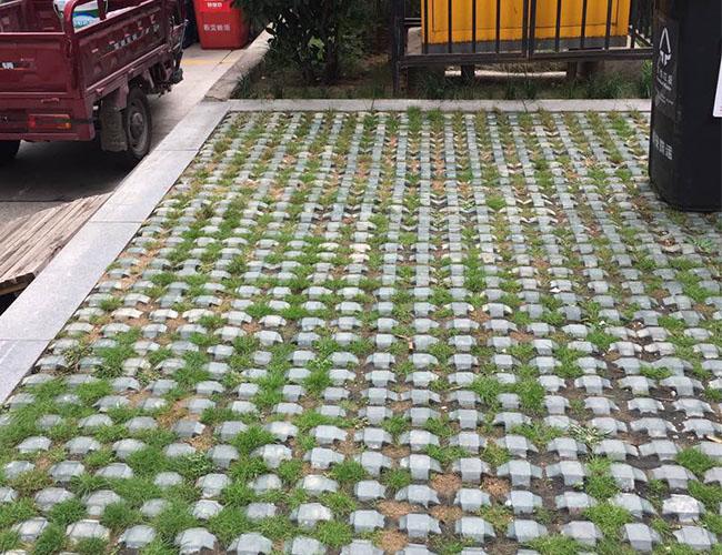 西安草坪砖加工