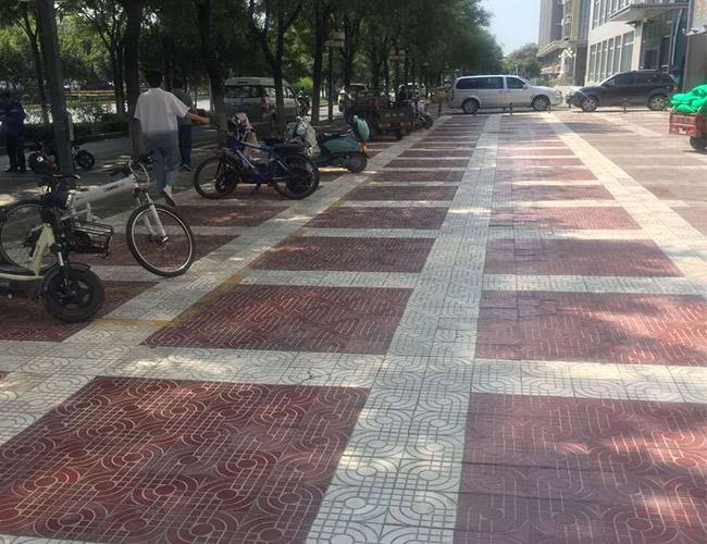 陕西广场砖施工