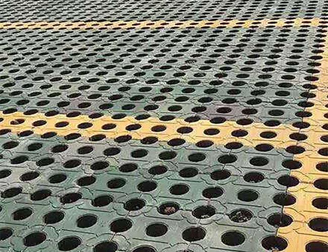 陕西草坪砖施工