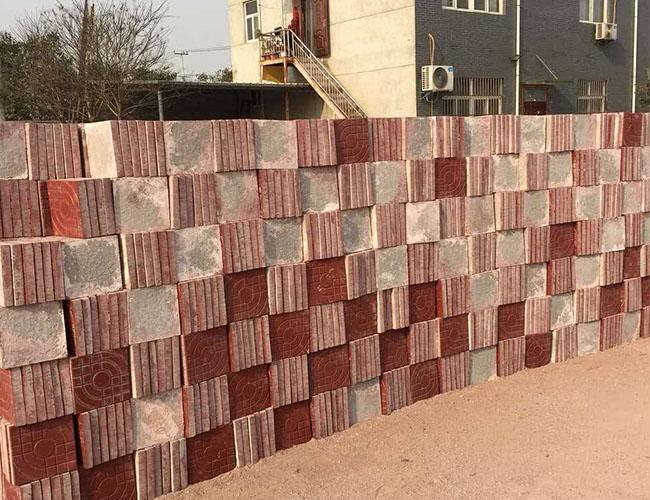 你知道地面彩砖的铺设时应该注意什么吗?陕西彩砖厂来告诉你