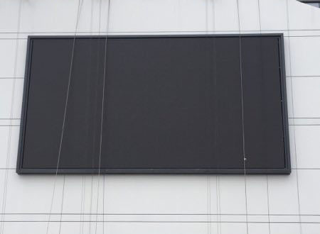 中铁铁建广场户外P10全彩显示屏