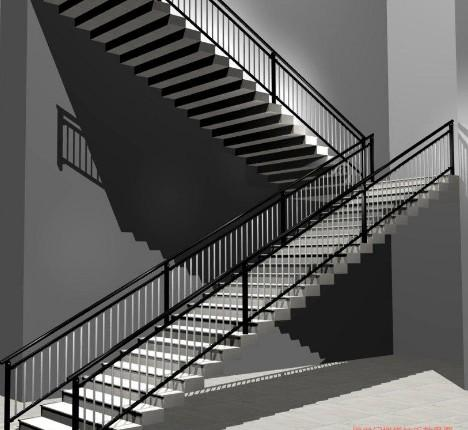 楼梯扶手制作