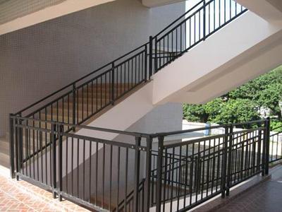 锌钢楼梯扶手加工