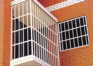 西安锌钢防盗窗安装