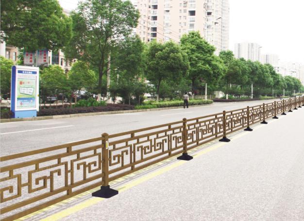 城市道路护栏案例