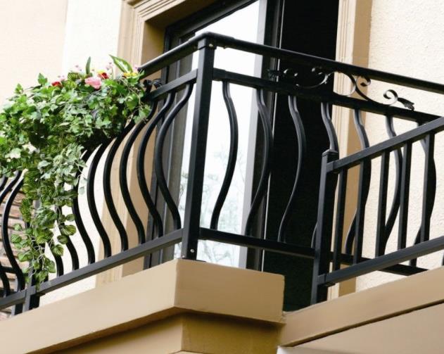西安锌钢阳台护栏