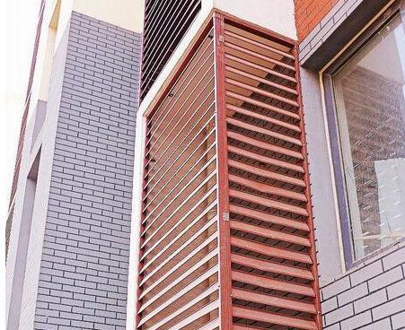 西安锌钢百叶窗的材质说明