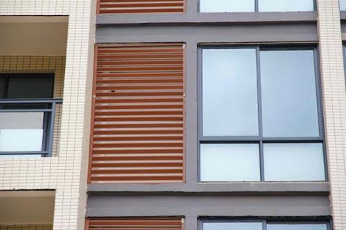 锌钢百叶窗安装