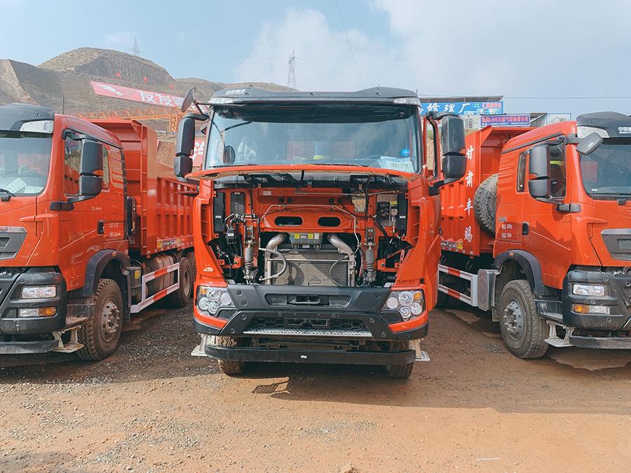 驾驶室全面升级 中国重汽豪沃TX系列