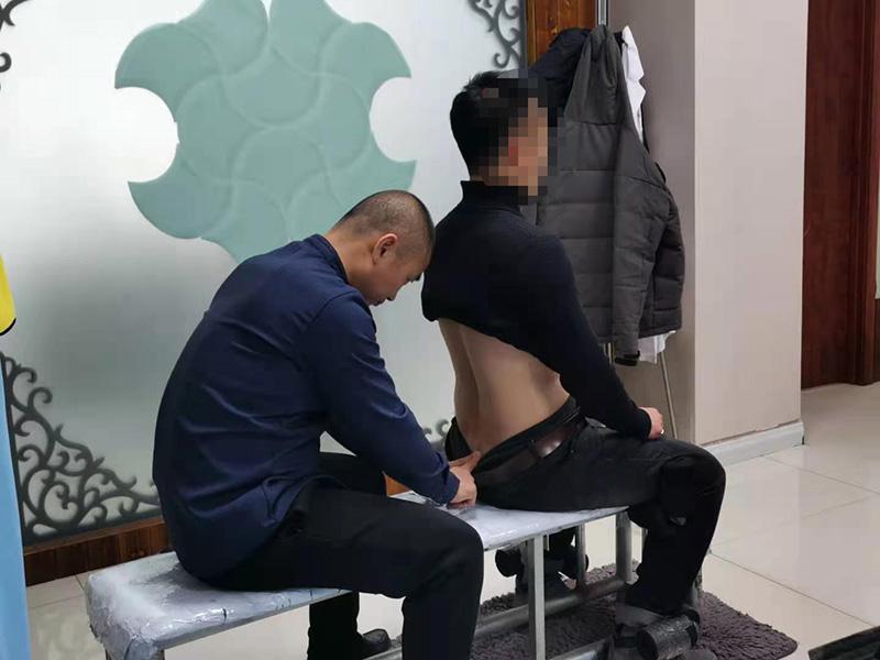 李先生,38岁,颈部疼痛伴腰部酸困疼痛