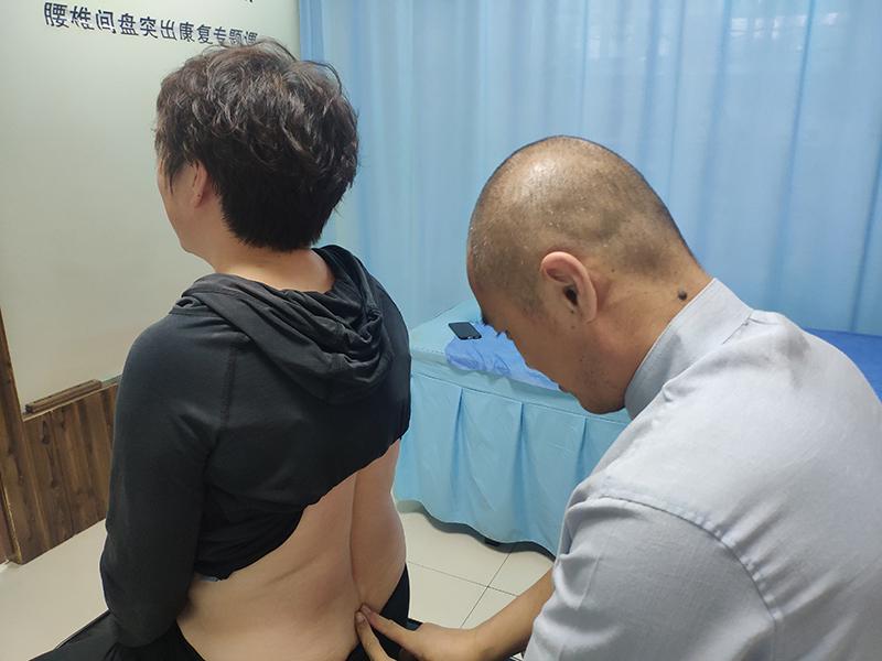 兰州恒道脊柱病研究所2021年9月22日康复诊疗案例