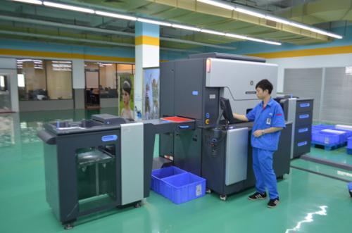 成都印刷厂印刷剪影