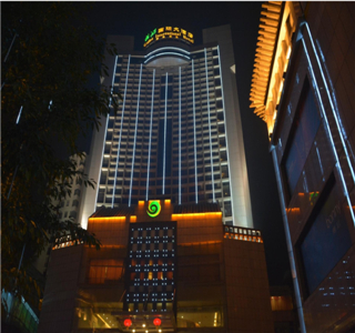 新都桂湖国际大酒店亮化