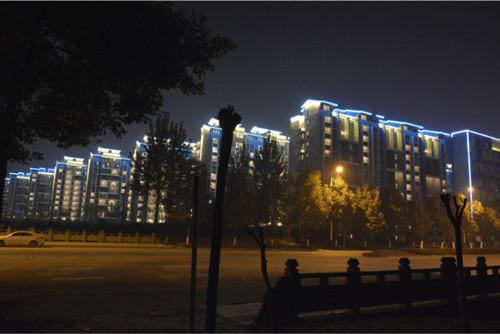 四川楼体照明设计