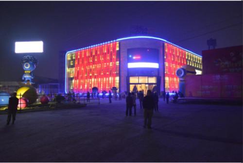 绵阳广场灯光设计