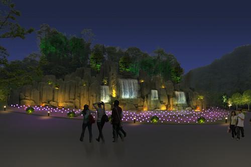 德阳公园亮化设计