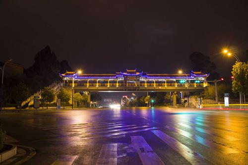 四川公园亮化设计