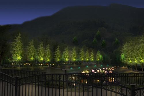 绵阳景观照明设计