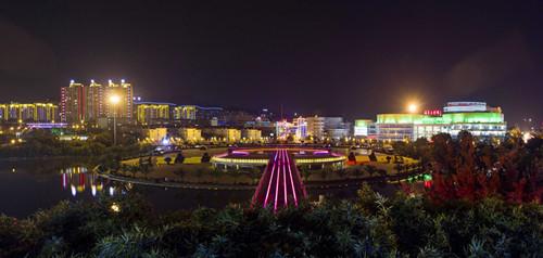 成都广场灯光设计