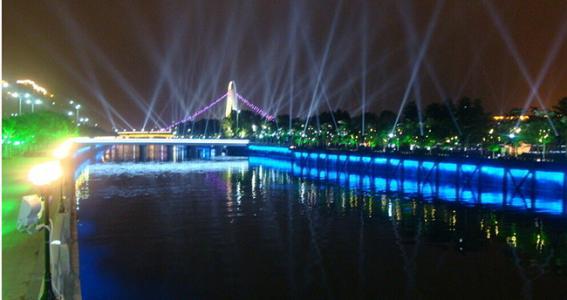 成都城市亮化工程城市景观照明设计的另一种韵味