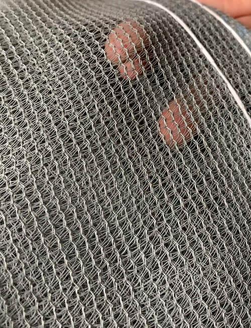 灰色阻燃安全网