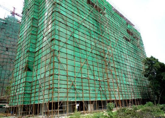 建筑安全网在工地施工需要注意事项!