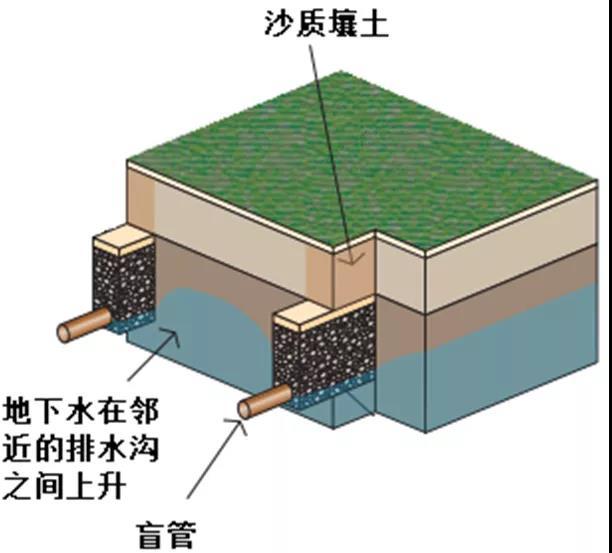 你知道四川运动草坪坪床是怎样排水的吗?