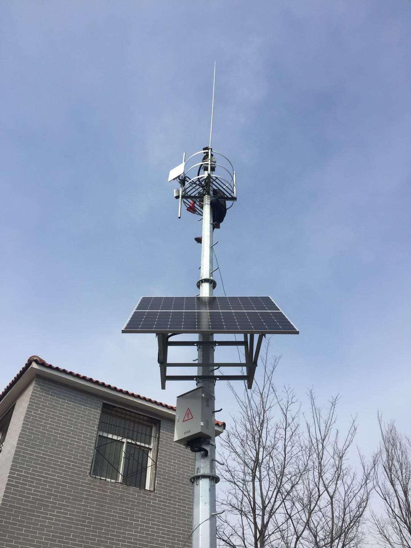 吕梁太阳能监控杆工程