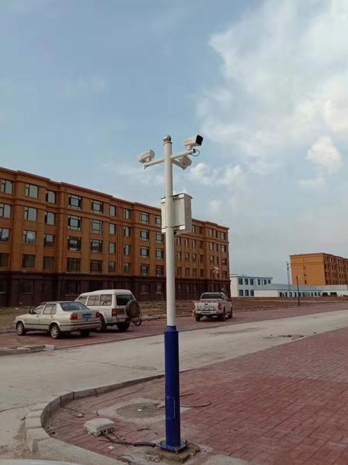 户外监控杆如何浇筑立杆-路灯工程