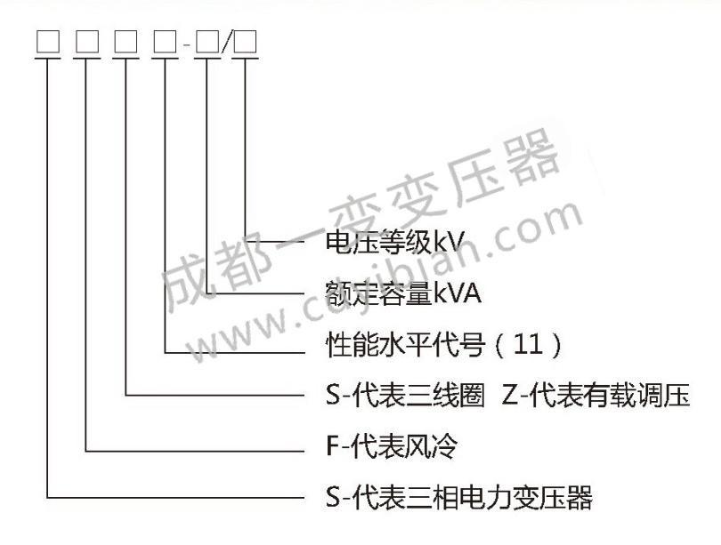 S13油浸式变压器35kV电力变压器型号含义