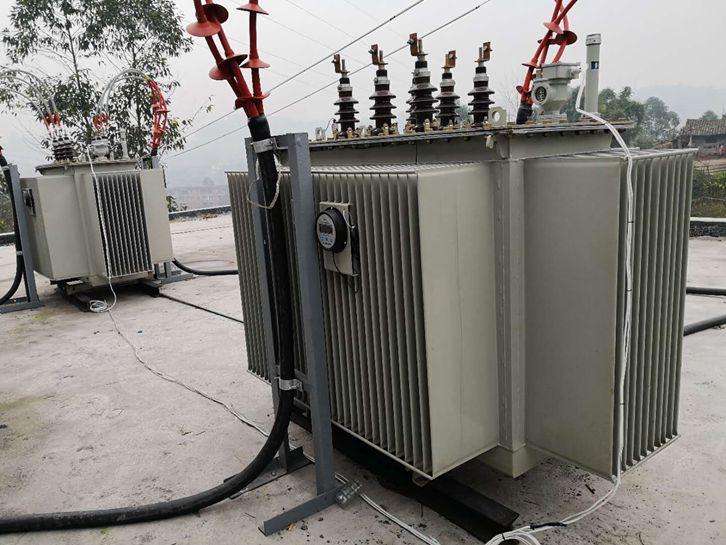 客户前期提供的成都电力变压器现场图片