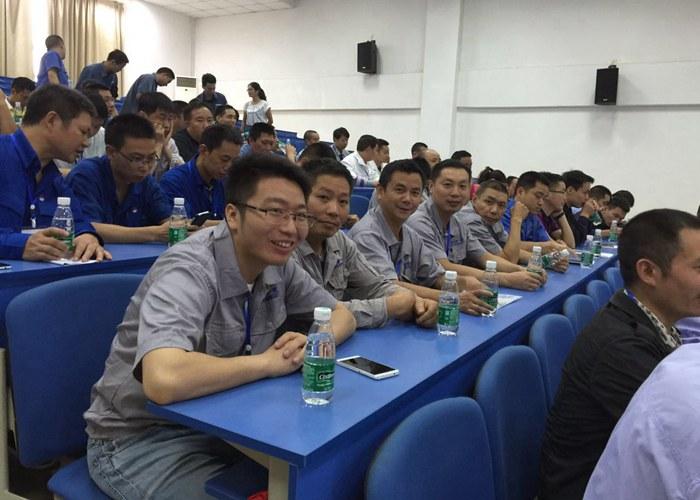 成都一变员工风采-参加郫县青年职工技能大赛